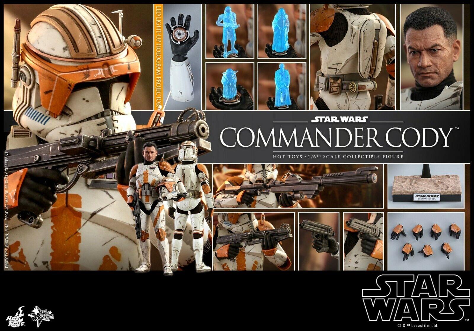 Hot Juguetes 1 6 Estrella Wars  episodio III La venganza de los Sith Comandante Cody 12  figura