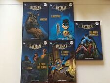 Batman la leggenda - volumi 1-2-3-4-5 - serie platino - ed. planeta deagostini