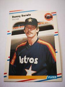 Fleer 1988 carte card Baseball MLB US NM+/M Houston Astros #444 Danny Darwin