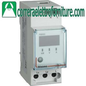 BTICINO-F80GC-Modulo-per-gestione-carichi-Vn-195-264-Vac-2-moduli