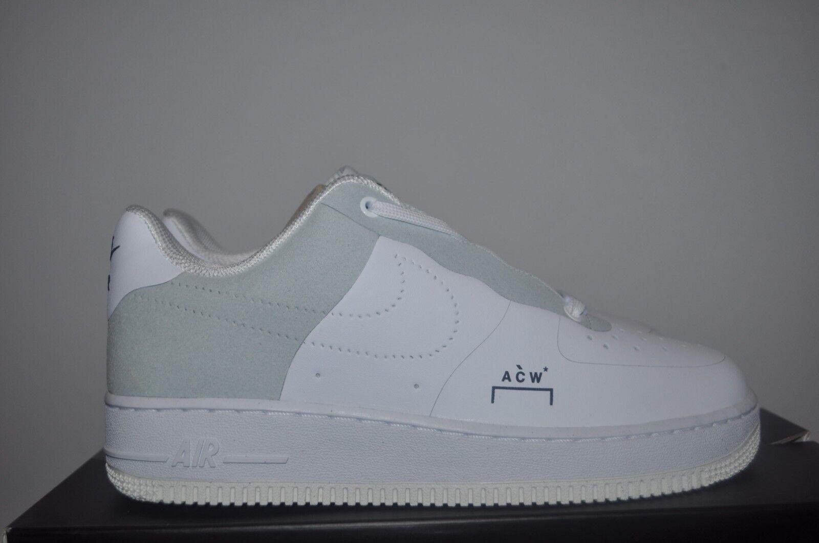 Nike Air Force 1 x A-Cold-Wall  Weiß   UK6 US7 EU40 AF1 ACW Samuel Ross Low Gute Qualität