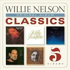 Original Album Classics [Us Artwork] [Box] by Willie Nelson (CD, Aug-2013, 5 Discs, Columbia (USA))