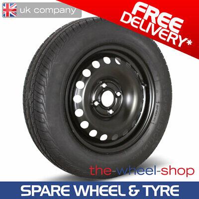 "14/"" Ford Fiesta 2008-2017 Full Size Spare steel Wheel /& 175//65 R14 Tyre"
