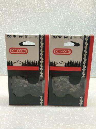"2 Pack Oregon 72LGX084G Chainsaw Chain  24/"" 3//8 .050 84DL"