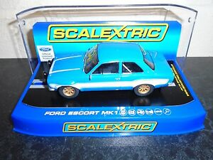 Scalextric-C3592-Ford-Escort-Mk1-lights-DPR-fabulous-m-b-034-fastnfurious-034-racer