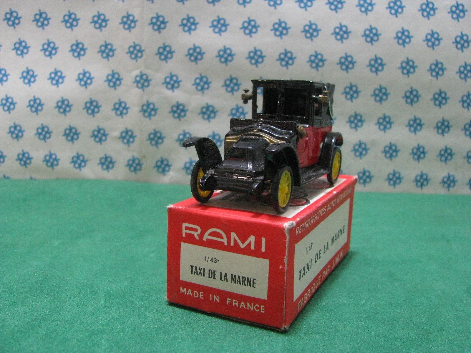 Vintage Rami - - - Taxi de la Marne - 1 43 France 1961 f5486e