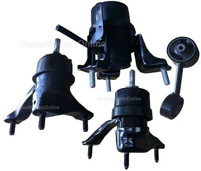 9R1403 3pc Motor Mounts fit 2.3L MazdaSpeed3  2007-2013  6 Speed Manual Trans
