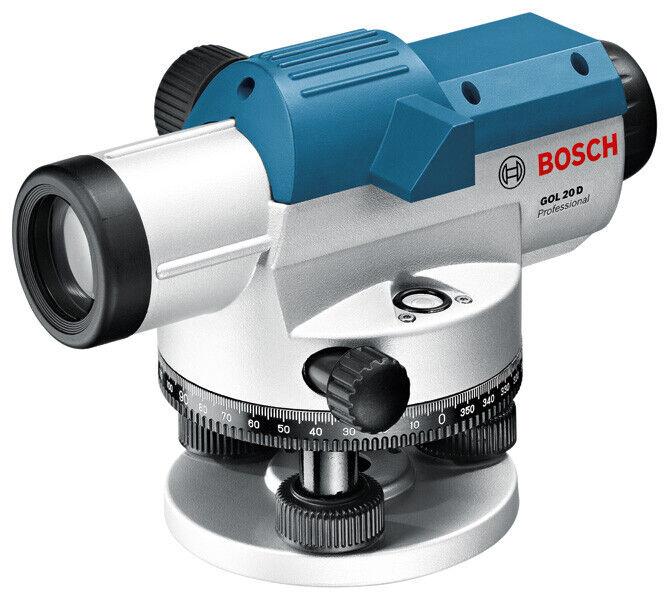 Bosch Optisches Nivelliergerät GOL 20 D Nr. 0601068400 mit Transporttasche