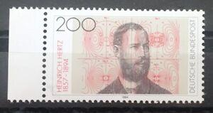 Bund-BRD-Michel-Nr-1710-postfrisch-1994-Heinrich-Hertz