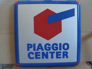 INSEGNA-PIAGGIO-CENTER-PER-VESPA-APE-CICLOMOTORI-CIAO-OLD-SIGN-ITALY