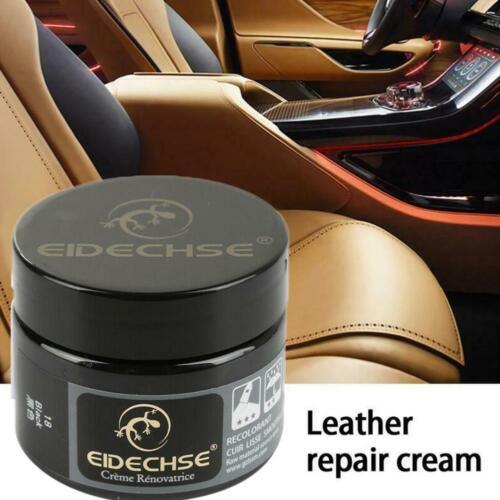 Leather Vinyl Repair Filler Compound Cream Leather Restoration Cracks Sofa x 1