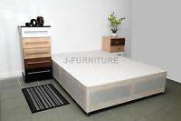 Sale 4ft6 Double Divan Bed Base With 2 Drawers On Foot End Factory Shop