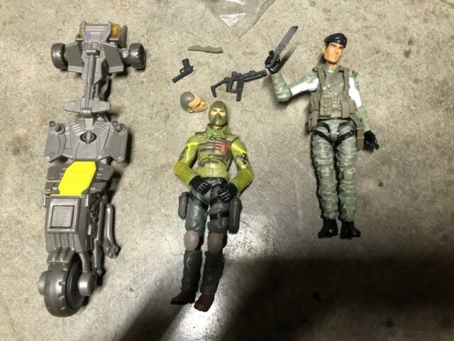 Gi Joe Retaliation Fire Fly Flint Movie 3.75 Figures Hasbro