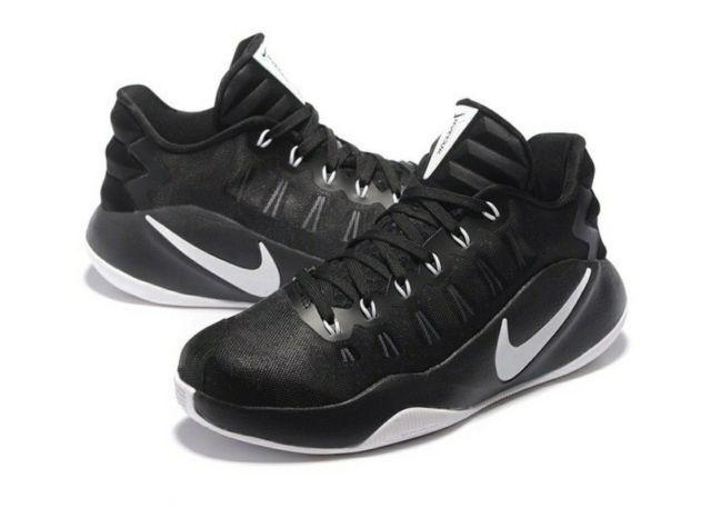 Nike hyperdunk 2016 basso Uomo scarpe da nero basket nero / bianco nero da 001 10,5 12 13 b0623a