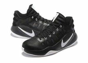 Nike Hyperdunk 2016 Low Mens Basketball Shoes Black White-Black 001 ... 6892897f8