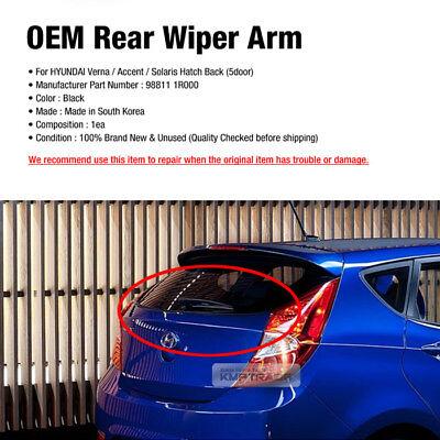 OEM Parts Windshield Rear Wiper Arm Cap For HYUNDAI 2011-2017 Accent Solaris