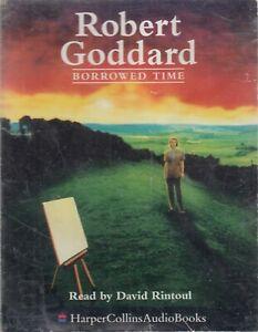 Robert-Goddard-Borrowed-Time-2-Cassette-Audio-Book-Abridged-Crime-Thriller