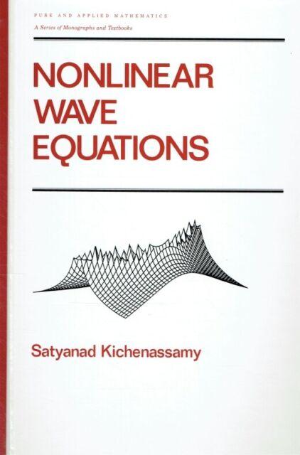 Kichenassamy, Satyanad; Kichenassamy, S.; Kichenassamy, Kichenassamy - Nonlinear