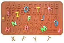 Silikonform Alphabet Buchstaben Ausstechform Fondant Tortendeko Kuchen Backen