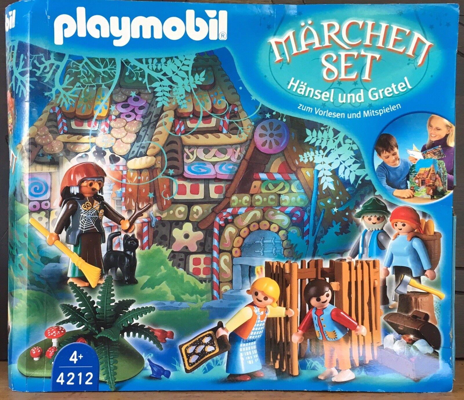Playmobil SPECIAL 4212 - Coffret  le conte des enfants dans la forêt  NEUF