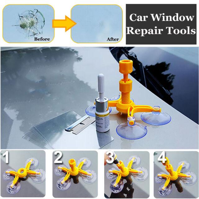 Windscreen Repair Kit Windshield Instrument Auto Windows Tool Glass Recovery