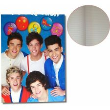 One Direction A4 Notebook School Stationery Brand New Gift
