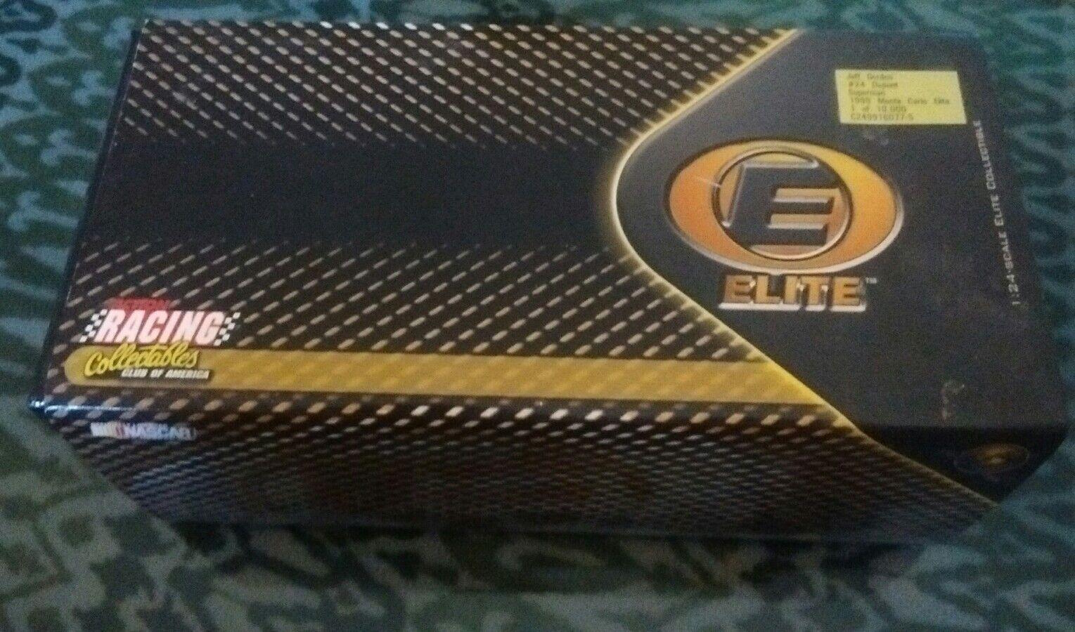 1999 Limited Edition  24 Dupont Superman Jeff Gordon Monte Carlo ELITE 1:24