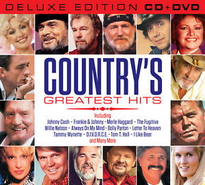 Country's Greatest Hits Collection (Deluxe Edition CD & all regions DVD) 55 hits