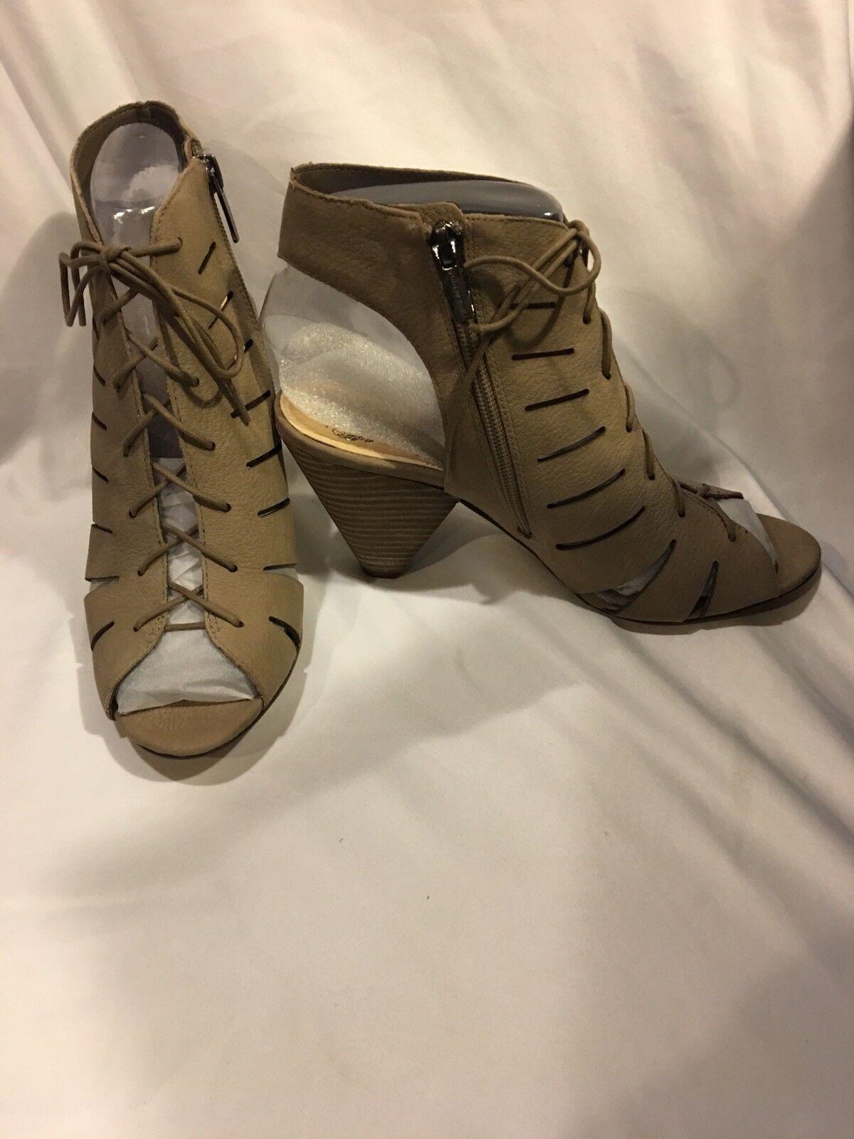 Vince Camuto Estie donna donna donna US 8 Taupe Sandals Cut Out scarpe donna Heels Lace Up 6f8e98