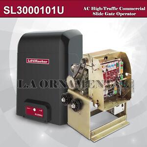 LiftMaster-SL3000501U-HP-AC-High-Traffic-Commercial-Slide-Gate-Operator