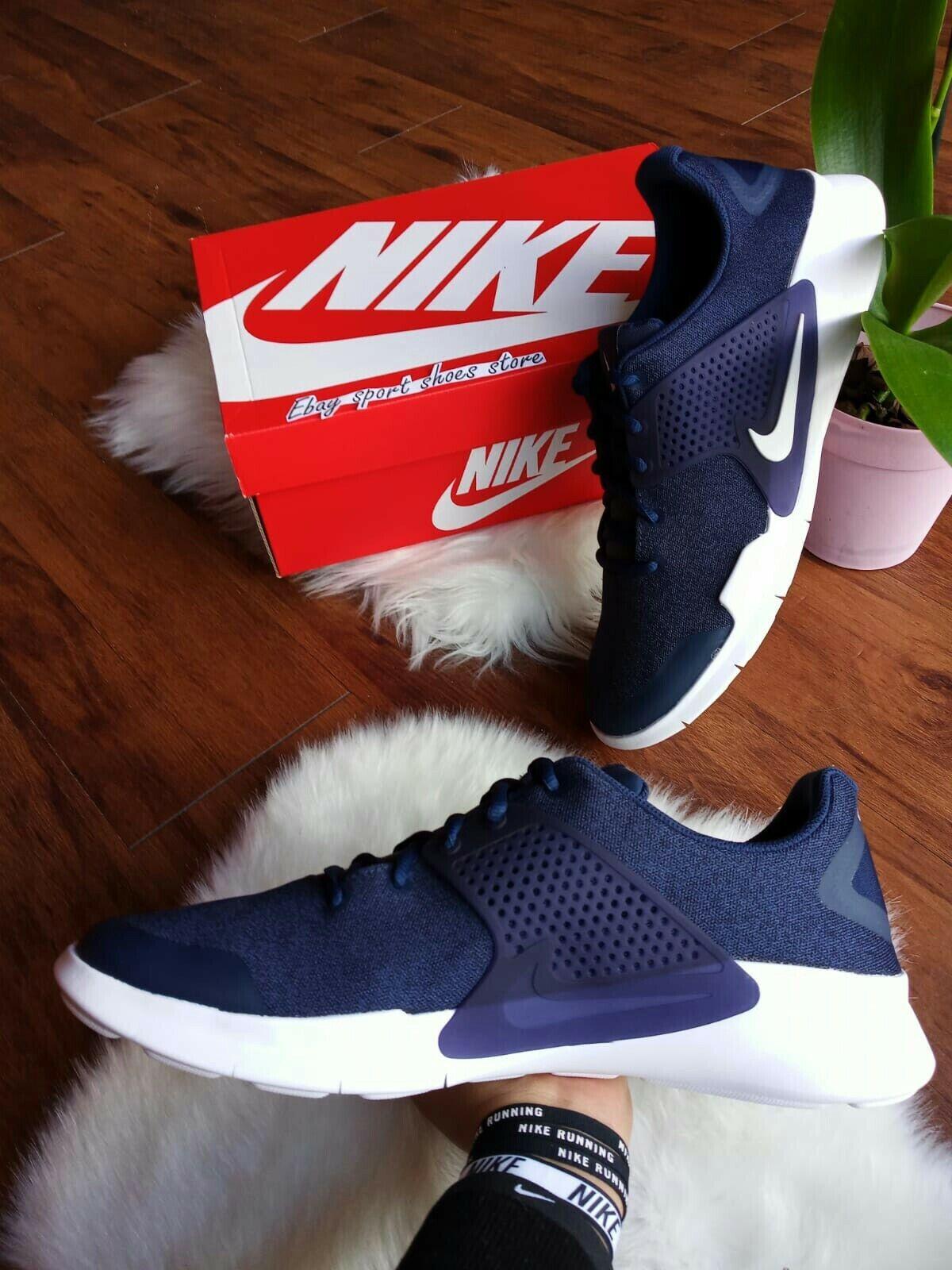 Taille 13 Homme NIKE AIR ARROWZ blanc bleu 902813 401 Casual Running chaussures
