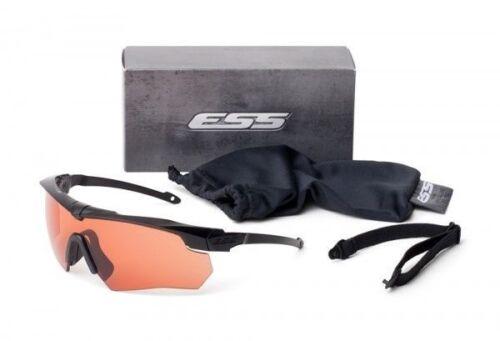 ESS Crossbow Suppressor Safety GlassesBlack FrameHD Copper Lens