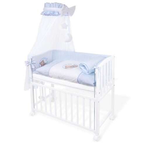 Beistellbett Komplettset Baby Bett Stubenwagen Wiege Bettchen höhenverstellbar
