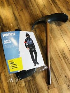 Fortnite Kids X Large 14 16 Black Knight Costume Spirit Halloween