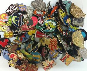 Disney-Trading-Pins-lot-of-100-Free-Shipping-US-Seller-100-Tradable-NO-DOUBLES