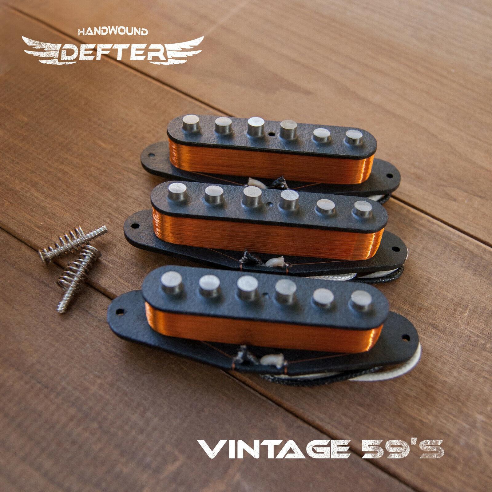 Strat Pickup Set for Strat Guitar HandWound AlNiCo5 Vintage '59
