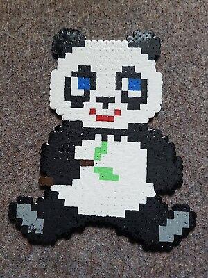 Symbol Der Marke Bügelperlen Bügelbild Hama Panda Sitzend Um Eine Reibungslose üBertragung Zu GewäHrleisten Bügelperlen