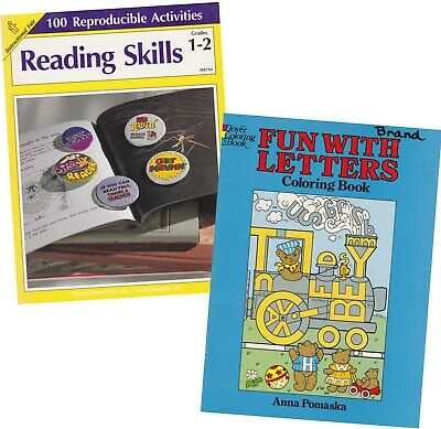 Reading Skills Reproducible Activities Gr 1-2 & Fun With ...