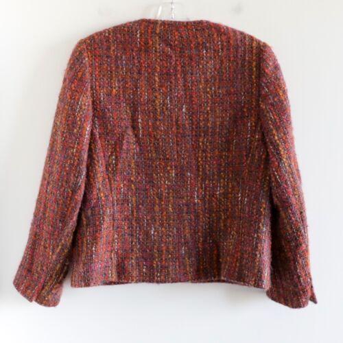 Orange Aquascutum Jacket London Premium Blazer Wool Størrelse Us Gold Brown 8 Kvinder rqvtrHOB
