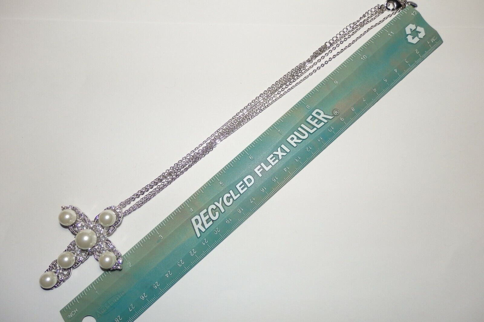 Rare JOAN BOYCE Crystal Rhinestone & Faux Pearl C… - image 6