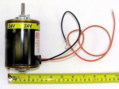 Military Truck 24V DC Blower Motor w// Fan /& Cage for HMMWV NSN 6105-01-460-4950