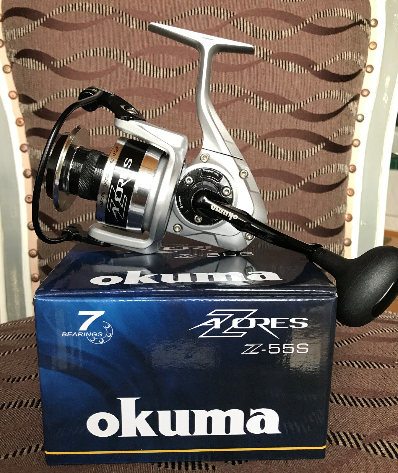Okuma Azores Z-55S  FD Spinnrolle  more discount