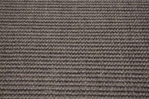 Sisal tapis umkettelt gris 200x200cm 100/% sisal gekettelt