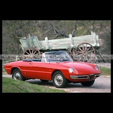 #pha.036233 Photo ALFA ROMEO SPIDER 1600 DUETTO 1966-1967