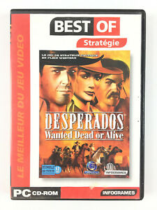 Desperados Wanted Dead Or Alive Jeu Pc Ebay