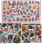 48-dettaglio-Alto-in-Legno-Albero-di-Natale-Appeso-Decorazioni-Angeli-Campane-Pupazzo-di-Neve miniatura 5