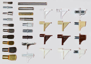 Details about Shelf Support Studs Pins Kitchen Cabinets Bookcases 3mm 4mm  5mm 6mm & 7mm Ikea