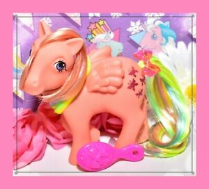 My-Little-Pony-MLP-G1-Vtg-1984-Rainbow-Ponies-Flutterbye-Butterfly-Pegasus