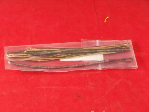 "Oneida Bow String 44/"" Bronze /& Brwn 18 Strand Omni 8125"