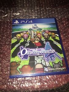 Details about Mystery Chronicle One Way Heroics for PS4 Limited Run Games  NEW PlayStation 4